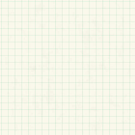 squared: White squared graph paper seamless sheet texture, vector background