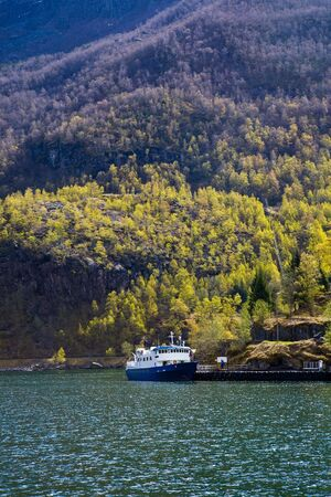Norway fjord on a beautiful sunny spring day Stock Photo - 7030296
