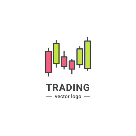 Trading graphic logo.
