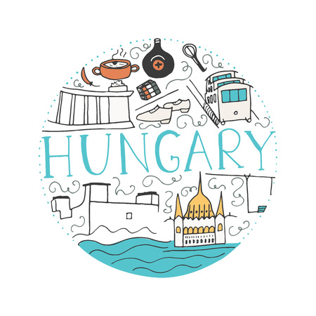 Culture of Hungary 向量圖像