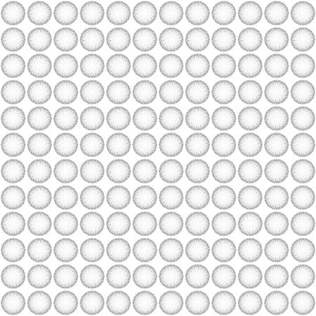 whit: Seamless pattern whit gray circles on a white background
