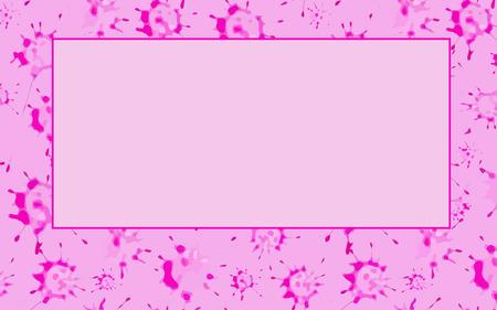 blots: Pink blots. Abstract background.  Vector illustration. Illustration