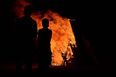 resplandor: Blaze fuego llama textura de fondo
