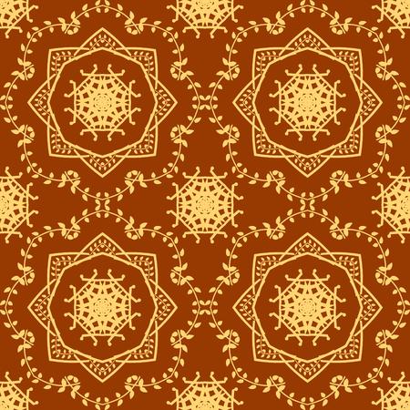 seamless pattern background: Lace Abstrakt nahtlose Muster Hintergrund. Vektor-Illustration Illustration