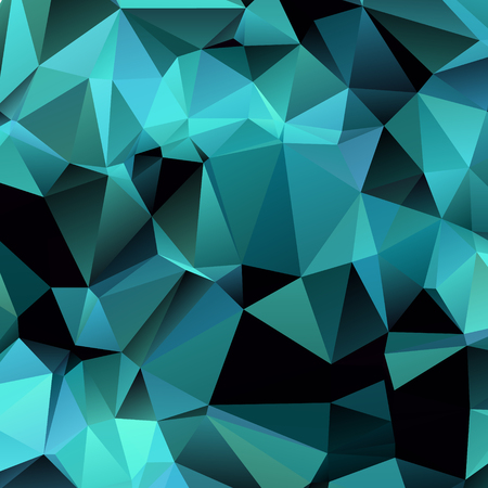 Polygonal mosaic background. Low poly style vector illustration
