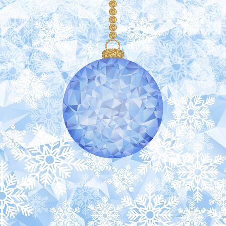 holiday background: Christmas holiday background. Illustration