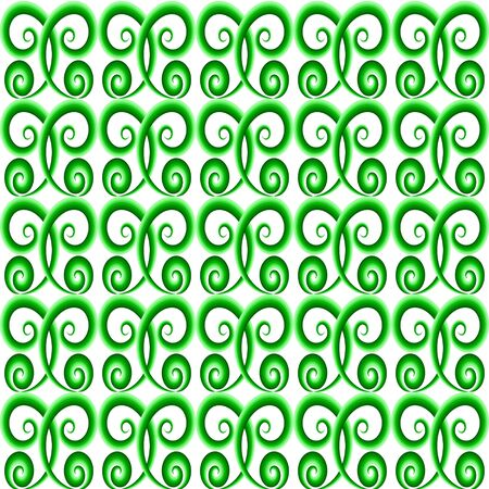 greeen: Greeen color ornament. Seamless pattern background. Vector illustration