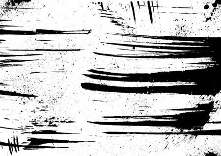 ink blots: Grunge vector background. Grainy abstract texture. Ink blots splash on white background. Design element.