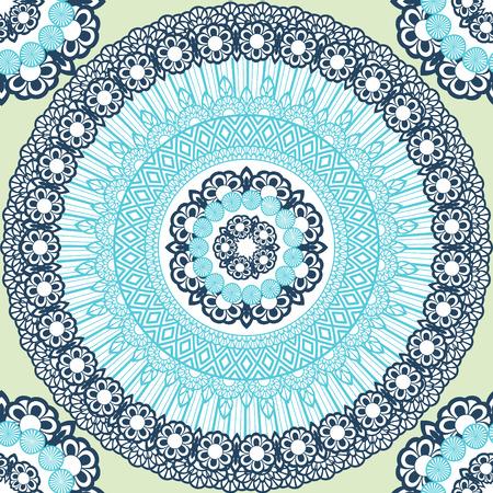 Flower Mandala pattern background