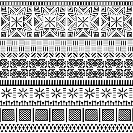 Tribal ethnic seamless pattern. Banque d'images - 100715040