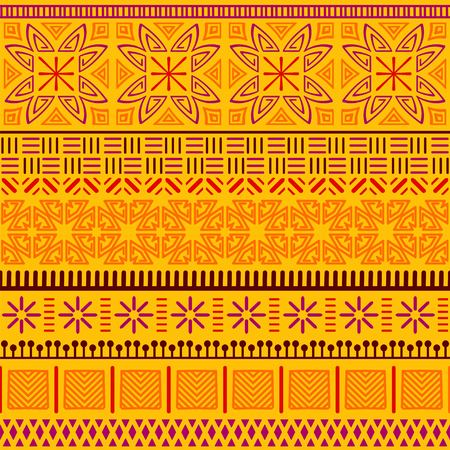 Tribal ethnic seamless pattern. Banque d'images - 101624927