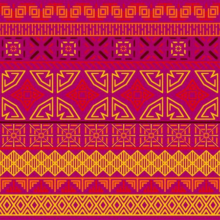 Tribal ethnic seamless pattern. Banque d'images - 101611457