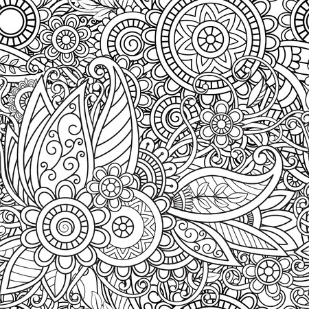 Ethnic seamless pattern 矢量图像