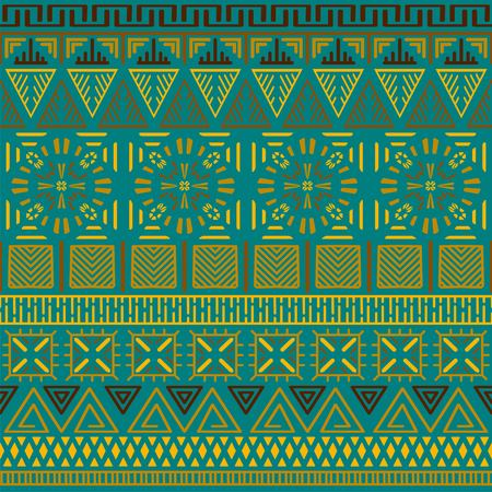 Tribal ethnic seamless pattern. Banque d'images - 102252526