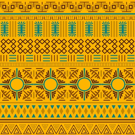 Tribal ethnic seamless pattern. Banque d'images - 104768393