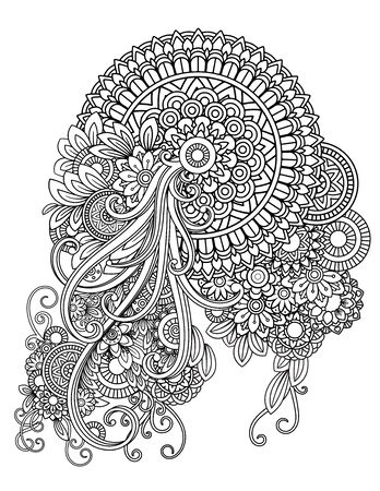 mandala adult coloring pages