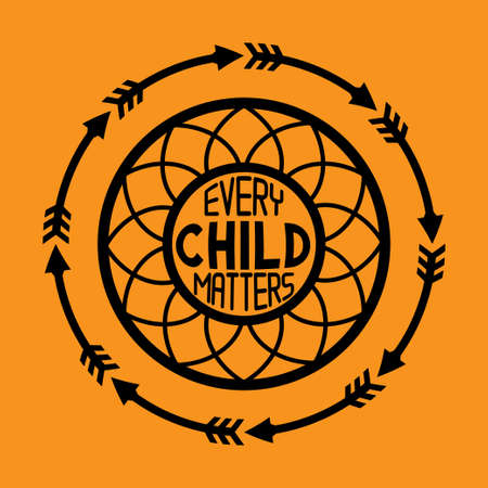 Every Child Matters Vector Illustration 向量圖像