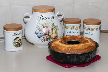 Bagel Donut Cake Italian food.