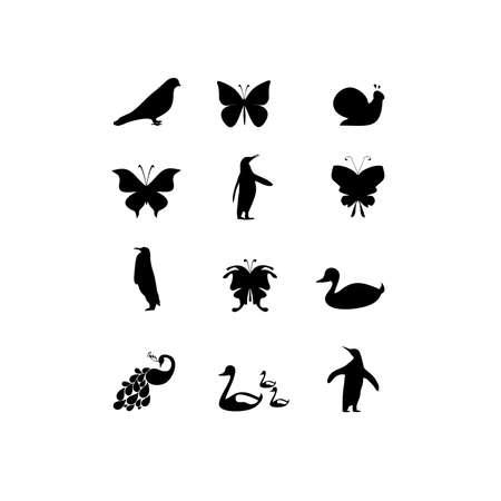 fauna: fauna icon on white background Illustration