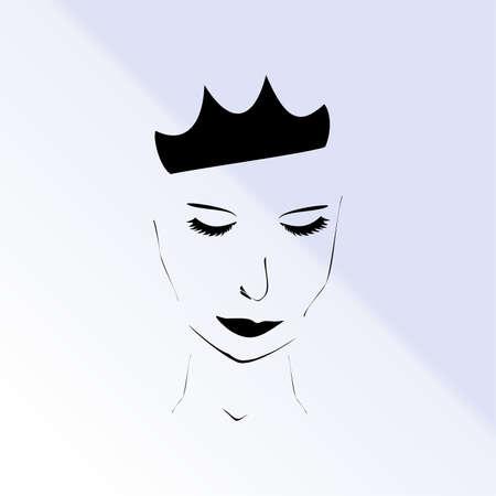 the snow queen: the snow Queen,vector illustration