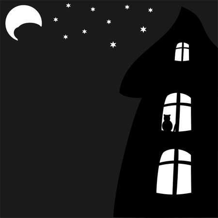 night: the city at night Illustration