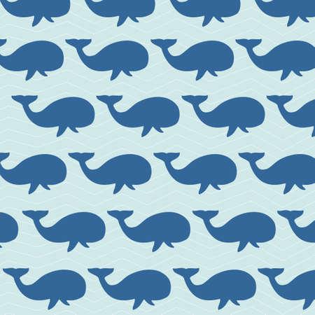 whales: whales background illustration Illustration