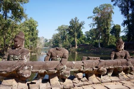 wat: Bridge at Angkor Wat