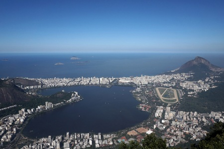 azucar: Copacabana from above