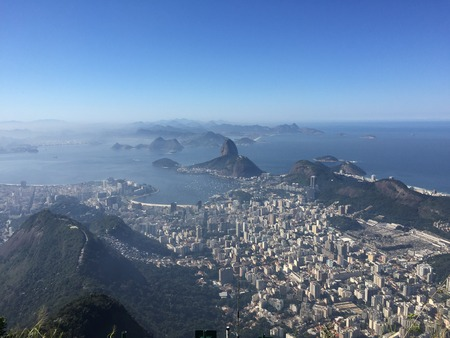 azucar: Sugarloaf view Stock Photo