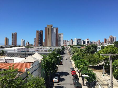 alte: Fortaleza cityscape