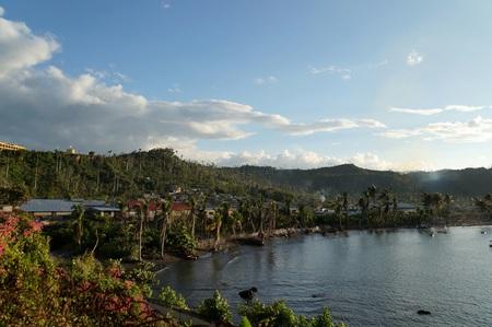 Baracoa bay view