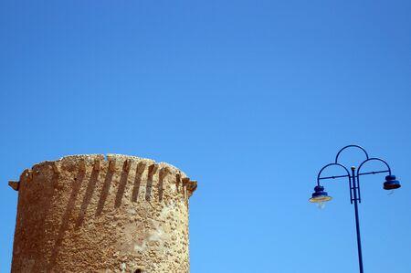 Old tower in Mondello