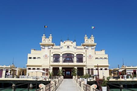 Art Nouveau building in Mondello