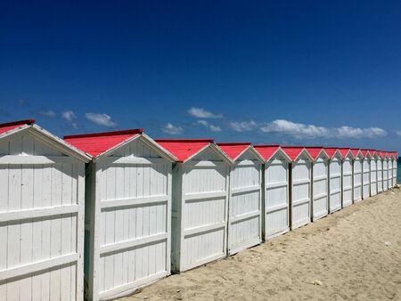 Beach huts in Mondello