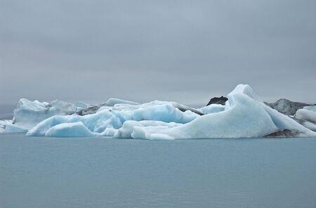 Eisberge in Jokulsarlon, Süd-Island