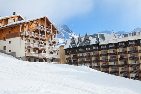 chalets: Chalets in Val Thorens, trois vallees complex, France