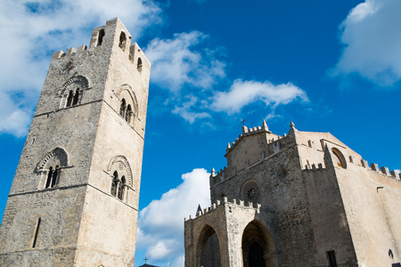 erice: Erice church cathedral, Sicily, Italy