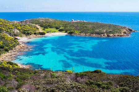 Cala Sabina Strand in Insel Asinara in Sardinien, Italien