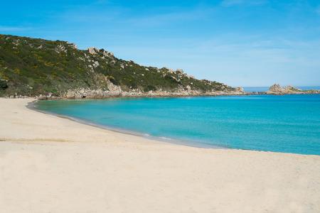 Sandy beach in Santa Teresa di Gallura, Sardinia, Italy Stock Photo