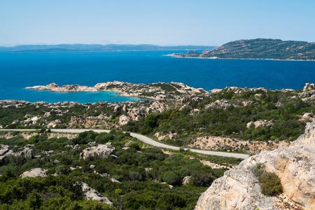 View of La Maddalena island, Sardinia, Italy Reklamní fotografie