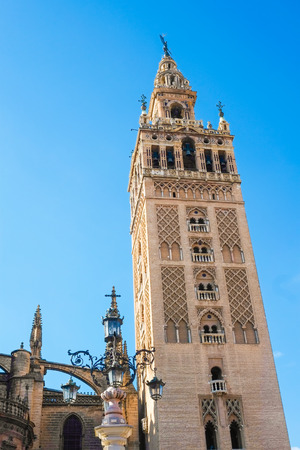 andalusia: La Giralda cathedral in Seville, Andalusia, Spain