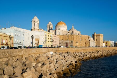 Cadiz waterfront, Andalucia, Spain