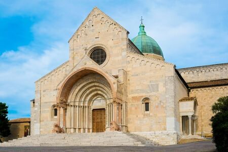 Saint cyriacus cathedral in Ancona, Italy