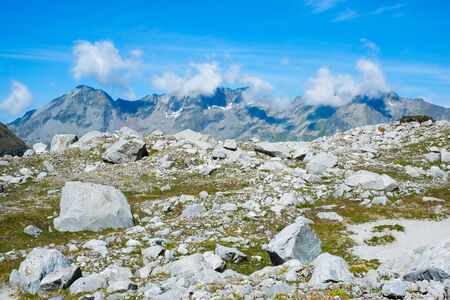 sud tirol: Mountain landscape close to Vedrette di Ries, Valle Aurina, South Tirol, Italy