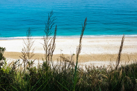 or san michele: Beach of San Michele in Sirolo, Conero riviera, Italy