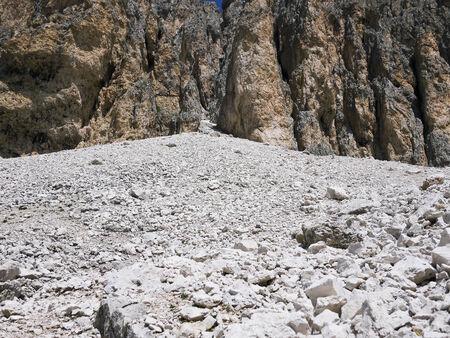 fassa: Dolomites mountains in Val di Fassa, Trentino, Italy