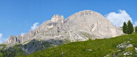 fassa: Roda di Vael in Dolomites, Val di Fassa, Italy