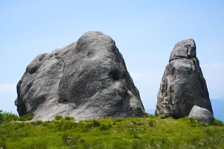 rock formation: Rock formation in Mottarone mountain, Piedmont, Italy