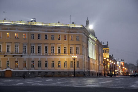 Street of St Petersburg form Palace Square