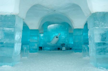 Icehotel in Jukkajarvi, Kiruna, north of Sweden